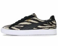 PUMA CLYDE SUITS TRAINERS - BLACK / WHITE - 363426-01 - EU 44.5, 46 - UK 10, 11
