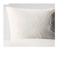 OFELIA VASS Quilt cover and pillowcases White -  100% cotton - IKEA -Brand New