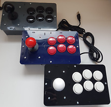 DIY Arcade Fight Stick For Raspberry Pi RetroPie - Retro Arcade Machine
