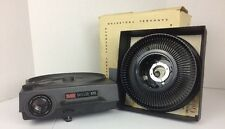 KODAK FILM CAROUSEL 600 SLIDE PROJECTOR VIEWER MM ELECTRIC LIGHT MOVIE