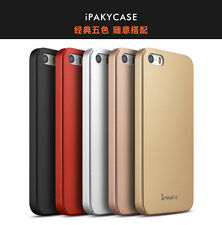 iPaky 360 Full Body Hybrid Protective Back Cover Case for Apple iPhone 5 5S SE