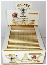 HORNET BIOLOGICO Canapa King Size sottile/STANDARD/intenditore per Rollare