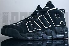 Nike AIR MORE UPTEMPO 6 7 8 9 10 11 12 BLACK WHITE PIPPEN penny supreme olympic