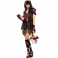 Ladies Unhappily Ever After Jill Costume Fancy Dress Sexy Goth Gothic Halloween