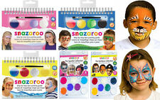 Face Painting Mini Snazaroo Kits Colour Pallette Boys Girls Party Sets Guide