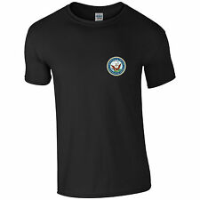 Department of the Navy United States Navy Mens Ringspun Cotton Tshirt