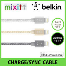 Belkin MIXIT Premium 1.2m Metallic Lightning to USB Charge/Sync Cable
