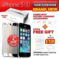 New & Sealed Factory Unlocked APPLE iPhone 5S 16 32 64GB Space Grey Gold Silver
