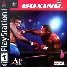 Boxing PS1 Playstation 1 Complete CIB Tested