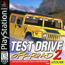 Test Drive Off Road 2 PS1 Playstation 1 Complete CIB Tested