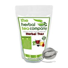 Bay Leaves Loose Herbal Tea Blends 50g Made Fresh To Order FREE INFUSER