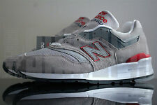 New Balance 997 CGR 5 6 7 8 9 10 11 GREY RED SUEDE USA 576 577 996 998 1500 fieg