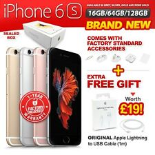 New & Sealed Factory Unlocked APPLE iPhone 6S 16 64 128GB Rose Gold Grey Silver