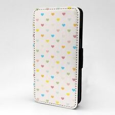 Polka Dot estampado Funda libro para Apple iPod - T1051