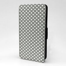 Polka Dot estampado Funda libro para Apple iPod - t1059