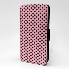 Polka Dot estampado Funda libro para Apple iPod - T1050
