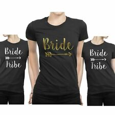Bride Tribe T Shirts Hen Party Bride Team Crew Squad Bridesmaid To Be Hen Night