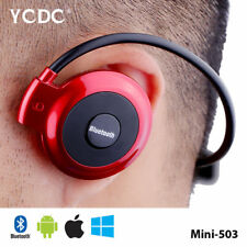 Auriculares Earphones Stereo Running 4.0 Wireless Bluetooth ROJO Sony Xperia