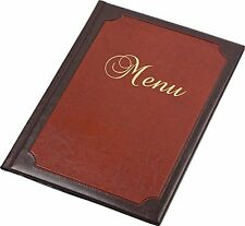 Menu Holder RESTAURANT PUB Sign Bar Catering luxury A5 Display meal list COVER