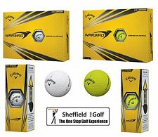 *NEW* 2017 CALLAWAY WARBIRD GOLF BALLS - DOZEN BALLS - WHITE & YELLOW AVAILABLE