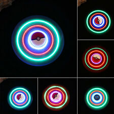 LED With &Bluetooth Speaker Hand Fidget Spinner Gyro Desk Toys Anti Anxiety Gift