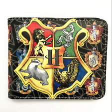 New Harry Potter Hogwarts School of Magic Houses Bifold Wallet Purse anwall9