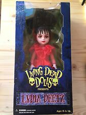 Living Dead Dolls Lydia Deetz- New, Sealed And Mint!