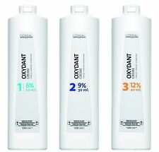 Loreal Professionnel Oxydant Hair Cream Peroxide Developer 6% 9% 12% 1Ltr