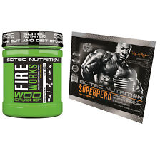 Scitec Nutrition Fireworks 360g Pre-Workout-Booster WOD Crusher + Booster Probe