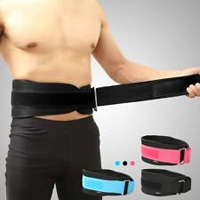 Men Weight Power Lifting Belt Gym Fitness Breath Back Support Training Belt HOT