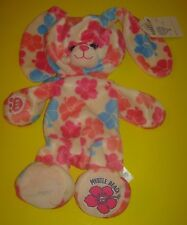 New UNSTUFFED Build-A-Bear HIBISCUS Flower MYRTLE BEACH BUNNY RABBIT 16in