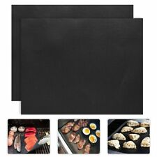 2Pcs/Lot 0.2Mm Thick Ptfe Barbecue Grill Mat 33*40Cm Non-Stick Reusable Bbq Gril