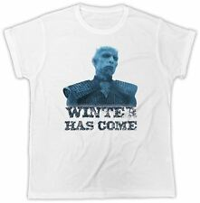 """Game of Thrones T Shirt TV """" Winter Has Come """" Gift Present Unisex Tshirt"""