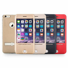 TOTU Smart Window Touch Sense Flip Flap stand Case Cover For Apple iPhone 6 / 6S