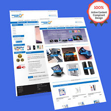 3 in 1 Mobile Responsive Ebay Store Design & Auction Listing Template HTTPS 2018