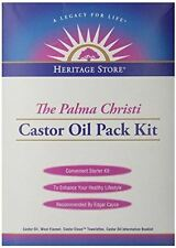 Heritage Store Castor Oil Pack Kit