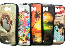 For Micromax Canvas 2 A110 / Canvas 2 Plus A110Q Back Cover Printed Soft Case