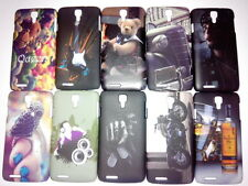 For Micromax Canvas Juice A77 A177 Back Cover Night Glow Printed Hard Cover Case