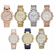 Michael Kors Lexington Series Chronograph Stainless Steel Bracelet Watch