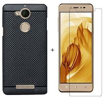 Combo Deal For CoolPad Note 5 Back Cover Black Dotted Soft Case / Tempered Glass