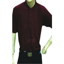 Lords Men's Half Sleeve Maroon T-Shirt - Polyester Cotton Blended