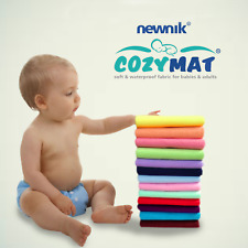 Cozymat Quick Dry Baby Bed Protector Soft Waterproof Reusable Infants Toddler SG