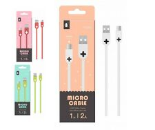 Cable carga datos 2A Micro USB universal Samsung Xiaomi  Android Bq LG Sony