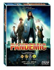 Pandemic (2013) Board Game by Z Man Games or Ticket to Ride Europe or Catan Game