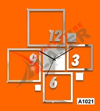 Combination Squares Fancy Decoration DIY wall clock-LaserCraftStore-A1021