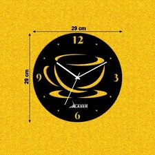 Coffee Design Fancy Wall Clock-LCS-A1117