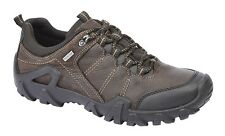 Mens New Brown Oily Leather Hi-Performance Outdoor Trail Trek Hiking Shoes 7-11