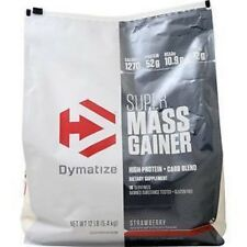 Dymatize Super Mass Gainer 12lbs - FREE UK DELIVERY