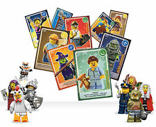 1 - 140 ALL SAINSBURYS LEGO CARDS CREATE THE WORLD 99p FREE AND FAST P&P