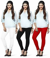 Lux Lyra silk legging free size best deal churidar 100 colors available indian